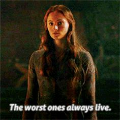 "When she said the truest thing on Earth. | 21 Times Sansa Stark Was The Smartest ""Game Of Thrones"" Character"