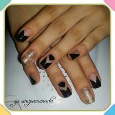 ♡ love nails#oja semipermanenta