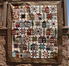 MISS ROSIE'S Come On-A My House Reproduction Floral Fabric Quilt Kit FREE SHIP #ModaFabrics