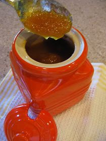 Peach Butter Recipe with Juice and Rind of Orange Recipe For Peach Butter, Apple Butter, Butter Recipe, Fruit Recipes, Sweet Recipes, New Recipes, Favorite Recipes, Delicious Recipes, Marmalade