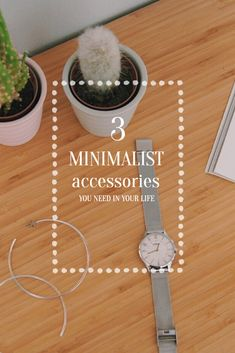 3 minimalist accessories, which could make your wardrobe perfect. Make It Yourself, How To Make, Life, Accessories, Beautiful, Fashion, Minimalist, Moda, Fashion Styles