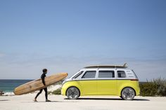 VW announced that the fully electric van, called the I.D BUZZ, is due to be put into production