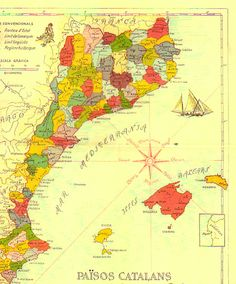 74 best Historical Maps of Catalonia images on Pinterest ...