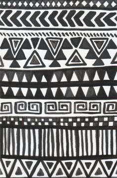 African Print Pattern
