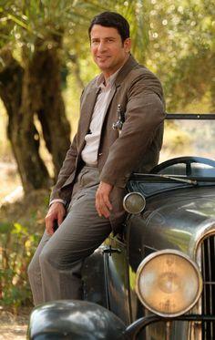 Spiro, The Durrells. The Durrells In Corfu, Vintage Tv, Period Dramas, Benetton, Downton Abbey, Best Tv, Movie Tv, Tv Series, Hot Guys