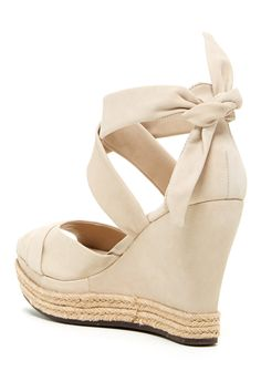 Lucy Platform Wedge Sandal