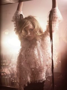 Natalia Vodianova Vogue Italia Bride Ideas Wedding Dress Inspiration