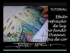 Refração de Luz nas águas do oceano perdido - estudo 1 - YouTube