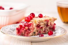 //   //   Thank goodness those delicious cranberries don't just have to be eaten during the holidays! It's so fabulous that we can find frozen cranberries all year round to be able to indulge in Cranberry Wassail and this scrumptious Guilt FR