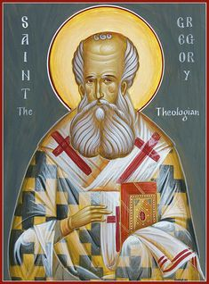 "One of only three hailed as ""theologian"" in the Eastern Orthodox Church, the other two being St John and St Symeon."