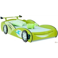 Race Car bed - Design I in Green