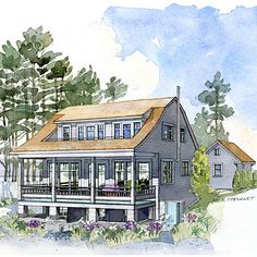 Shoreline Cottage   Coastal Living | Southern Living House Plans | Tiny  House, Darn It | Pinterest | Southern Living House Plans, Southern Living  And ... Good Looking