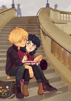 Adrienette because reasons…👀💦 Bonus: (Local sunshine about to get wrecked by his gf in >v Miraculous Ladybug Wallpaper, Miraculous Ladybug Fan Art, Miraculous Ladybug Fanfiction, Meraculous Ladybug, Ladybug Comics, Les Miraculous, Marinette E Adrien, Ladybug Und Cat Noir, Adrien Agreste