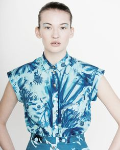 Claire Pignot just released the SS15 collection for her label Heinui, featuring the wonderful watercolour prints that are so distinctive of her designs.