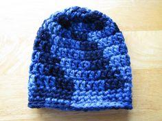 Little Boys Crocheted Hat in Blues (20.00 USD) by WarmingHeartsB1G1