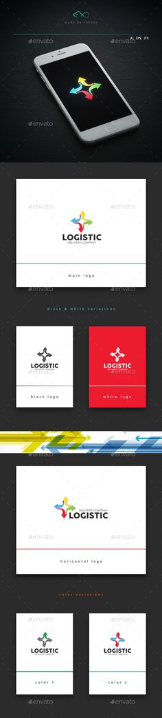 Logistic Logo Template Vector EPS, AI. Download here: http://graphicriver.net/item/logistic/14466295?ref=ksioks
