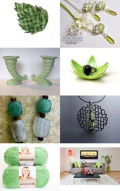 Green Tea by Natasha on Etsy--Pinned with TreasuryPin.com
