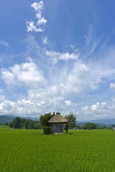 Aragami-jinjya, Tono. Iwate, Japan
