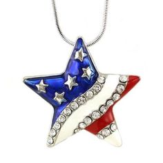 All American Girl, Pendant Necklace, Christmas Ornaments, Holiday Decor, Jewelry, Home Decor, Jewlery, Decoration Home, Bijoux