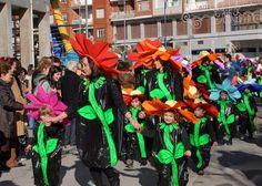 Disfraces escolares: de flor   Aires de Fiesta
