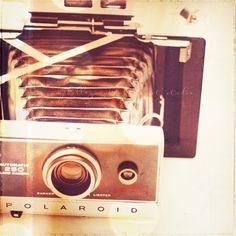 camera photograph trigger happy vintage polaroid by sixthandmain, $14.00