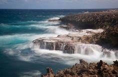 Curacao's north coast, Boca Tabla.