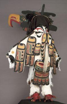 thunderbird mask and regalia Calvin Hunt