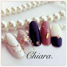 love those colours nail art Bling Nail Art, Fancy Nail Art, Glam Nails, Bling Nails, Beauty Nails, Japanese Nail Design, Japanese Nail Art, Pretty Nail Designs, Nail Art Designs
