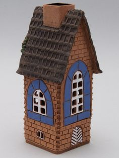 Сказочные домики (135 фото) Clay Houses, Home Candles, Fairy Houses, Thrifting, Pottery, Bird, Outdoor Decor, Projects, Home Decor