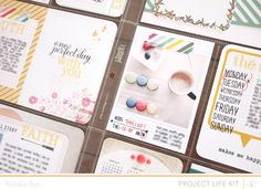 studio calico : project life : march 2013...I want to do this...why can't I seem to find the time!