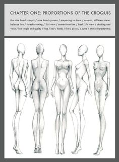 9 Heads (4th Edition) by Nancy Drawing technique.:
