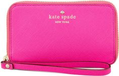 Hot Pink Kate Spade Wristlet | The Ultimate Christmas Gift Guide