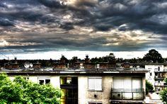 sziliphoto: Távolodó felhők