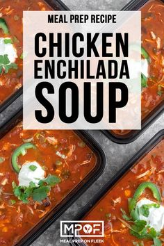 This instant pot chicken enchilada soup is simple to make gluten free and full of delicious enchilada flavor! This instant pot chicken enchilada soup is simple to make gluten free and full of delicious enchilada flavor! Lunch Recipes, Soup Recipes, Chicken Recipes, Cooker Recipes, Dinner Recipes, Chicken Enchilada Soup, Chicken Enchiladas, Low Calorie Recipes, Healthy Recipes