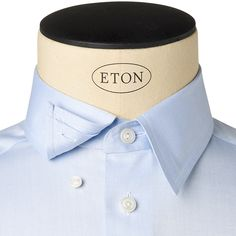 How we measure 4 shirt length measure from center for Hidden button down collar shirts