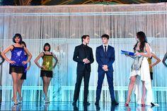 Stephane Richelmi and Charles Leclerc on stage at the 1st @monacowsla with our Master of Ceremonies @lorenabaricalla wearing DIDIMARA Marina Corazziari and Duccio Venturi. - MonacoWSLA Team -  @montecarlosbm @visitmonaco #wsla16 #monaco #stephanerichelmi #charlesleclerc #young #future #racingdriver #lorenabaricalla #theoscarsofsport #salleempire #award #montecarlosbm #gala #didimara #marinacorazziari #duccioventuri #wsla visitmonaco #hoteldeparismc