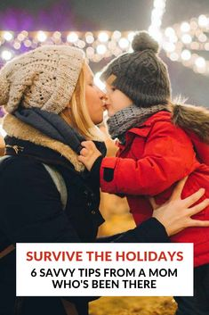 Savvy, easy tips from a busy mom on how to get through the festive season with your sanity intact! Family Life, Good Times, Feel Good, Festive, Holiday, Christmas, Winter Hats, Parenting, Seasons