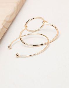 Bracelets géométriques - Accessoires - Bershka France