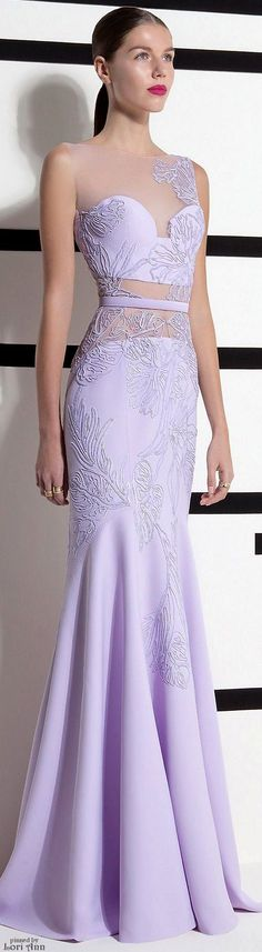 Prom Glam- Lovely Lavender Gown