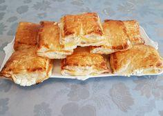 Túrós, tejfölös leveles párnácskák recept foto Spanakopita, Baked Goods, Baking, Ethnic Recipes, Food, Cooking, Bakken, Essen, Meals