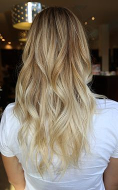 Box No. 216, shade of blonde - I need to go to LA to get my hair done properly...