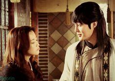 Faith ♥ Kim Hee Sun as Yoo Eun Soo ♥ Lee Philip as Jang Bin,