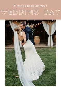 5 things to do on your WEDDING DAY On Your Wedding Day, Wedding Tips, A Night To Remember, Groomsmen Suits, Dance The Night Away, Theme Song, Bride Groom, Got Married, Relationship Goals