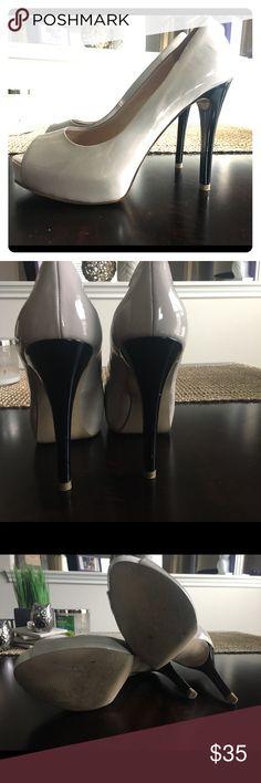 Guess Peep Toe Heels Guess Heels Guess Shoes Heels