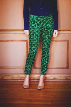 @J.Crew pants & shoes #bows #fashion #style asimplestatement.com