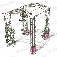 The pergola kits are the easiest and quickest way to build a garden pergola. There are lots of do it yourself pergola kits available to you so that anyone could easily put them together to construct a new structure at their backyard. Garage Pergola, Metal Pergola, Cheap Pergola, Outdoor Pergola, Backyard Pergola, Pergola Kits, Pergola Lighting, Pergola Ideas, Metal Arbor