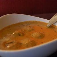 Kaddu kofte curry for kids