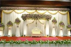 Famous Christian Wedding Stage Decoration 6