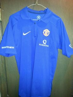 NIKE MANCHESTER UNITED SOCCER FOOTBALL POLO SHIRT