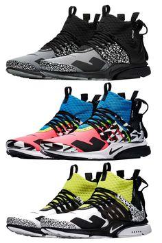 huge discount 3f059 f7500 Nike x Acronym Air Presto Air Presto, Sneaker Release, Best Sneakers, Nike  Shoes